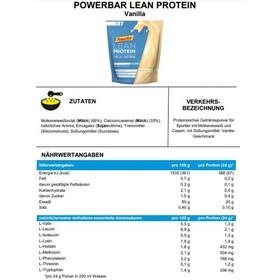 PowerBar Lean Protein Sac 500g, Vanilla